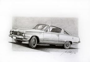 Plymouth Barracuda 1964 by Mipo-Design