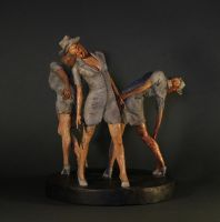 Silent Hill - Bubblehead Nurses by 123samo