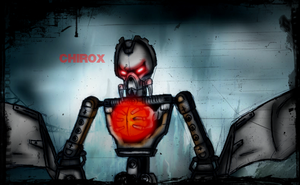 Makuta Chirox by DarthDestruktor