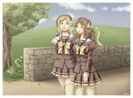 Myst and Peachy Shuffle-style by LMP-TheClay