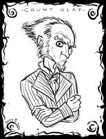 Count Olaf portrait by ZombiDJ