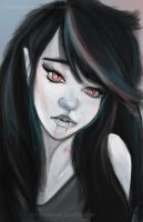 Marceline the Vampire Queen by TrishyCakes