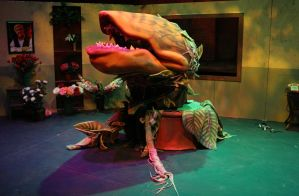Audrey II stage 3 (awake) by mostlymade