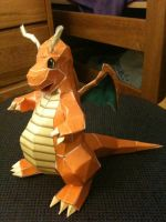 Dragonite papercraft by homestah