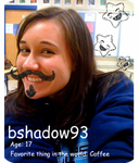 I have a mustache. by bshadow93