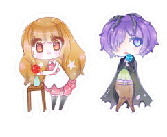 Chibis- IB and Garry by HotaruAyanami