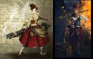 Steampunk Chola Photo by Axcido
