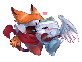 AT: .:Fushi and Merrel:. by Wolfwrathknight