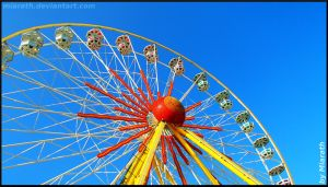 Riesenrad - Ferris Wheel 3 by Miarath