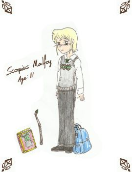 Scorpius Malfoy by AlbusPotter