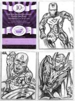 Treasure Chest Sketch Cards by JasonShoemaker