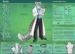 [Commission]  Dexter Character Sheet by Ulario