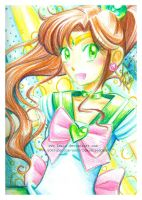 Crayola Crayon Sailor Jupiter by LemiaCrescent