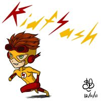 YJ Chibi project 1 - Kid Flash by sanekkuburai