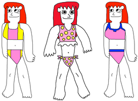 Kairi in Secondary Swimsuits by jacobyel