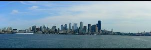 A Seattle Skyline by SozoTakkun