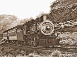 Steam Train 18 by MartinGollery