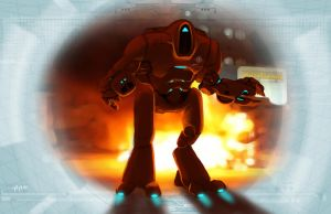 Shadowrun Firefighter/Road Rescue Drone MCT Elohim by raben-aas