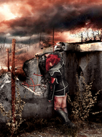 Code Geass. Kallen Kozuki. This is war by SarinaAmazon