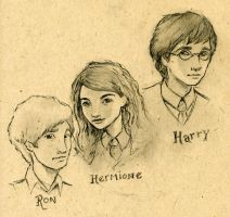 Harry Potter Sketch by CAMartin