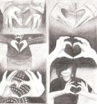 Hand Hearts by Maskerades