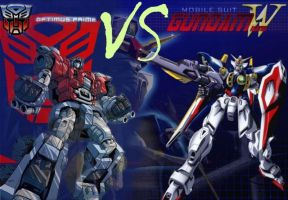 Transformers VS Gundam Wing by TerrorTechWar