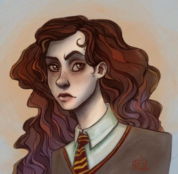 Hermione by ladypumpkinseed