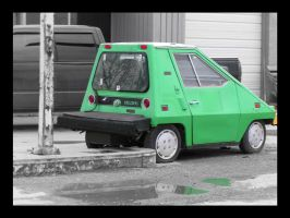 B_W Electric Car by VoDooClown