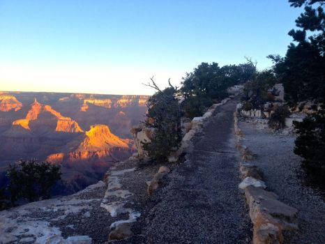 South Rim Sunrise by Love2B