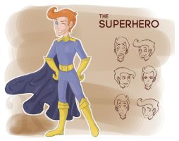 Character Design: The Superhero by forevangel23