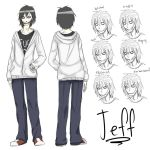 14/15 y.o Jeff concepts by Chibi-Works