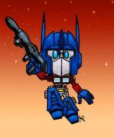 Optimus Prime by JoshuaFitzpatrick