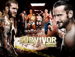 WWE Survivor Series Poster 2 by deviantfafnir