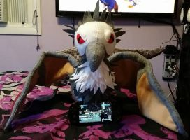 Bloodwing wants me to play my Vita by FuzzyAliens