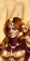 Leona, The Radiant Dawn. by RiVvenGuard