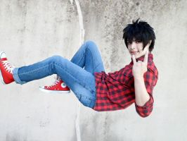 Marshall lee cosplay by Guilcosplay