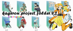 kagerou project folder V.2 by Kisaragi05