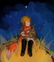the little prince by AppleSeries