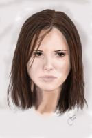 Speedpainting: Sophia Bush by janine83
