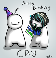 Happy Belated Birthday Cry by LadyAlora