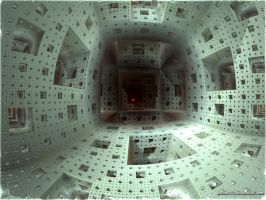 Inside the Menger Sponge by psion005