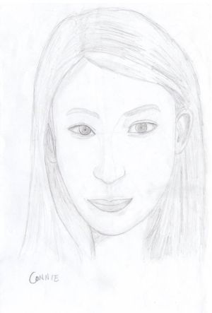 TEW Pencil Sketch: Connie