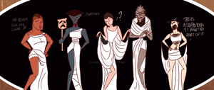 Hercules- The Muses by hoiist