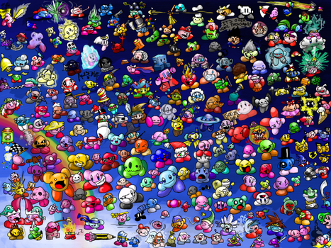 Kirby Overload by RRRandomness