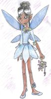 Blue Fairy girl by The-sorceress-of-air