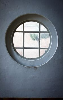 Round Window by Avahlon-Stock