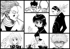 Hunter x Hunter Collage by FD-chan