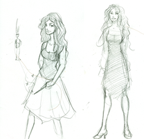 oc sketches 2 by Hillary-CW