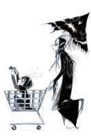 Lone Count and Child by CountANDRA