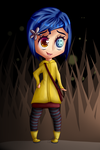 Coraline + Speedpaint by InfinitelyImpossible